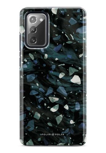 Polar Polar grey Nordic Terrazzo Gem Dual-Layer Tough Case Glossy For Samsung Galaxy Note20 5G 080B2AC81B0A32GS_1