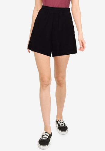 Cotton On black Courtside Shorts B2051AA754044BGS_1