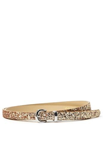 MARKS & SPENCER gold Glitter Hip Belt 5AA48AC9489512GS_1