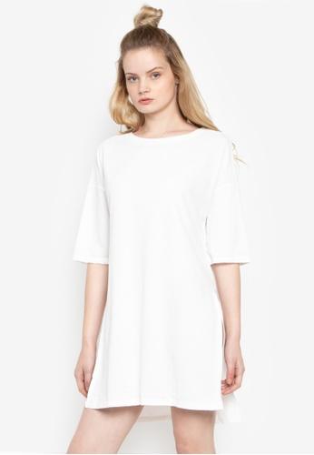 Susto The Label white Novic Back Tie Dress 0BAC5AAFBDF0E0GS_1