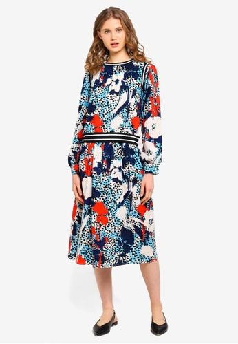 ESPRIT multi Woven Long Dress C5E8CAAA52E40DGS_1
