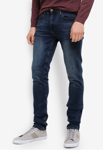 CR7 blue Low-Rise Skinny Jeans CR532AA0SYHXMY_1