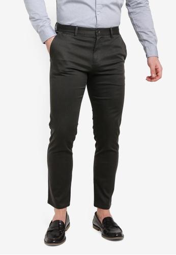 Sisley grey Printed Pants. 962AEAAB428B9CGS_1