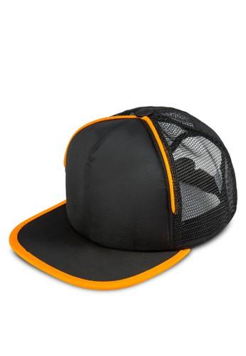 撞色滾邊運動鴨舌帽, 飾品配件esprit 台北, 帽飾