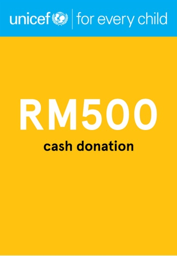 #ZALORACares UNICEF - Donation to fight COVID-19 (RM500) 671D0AC2BEE8E2GS_1
