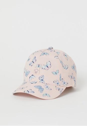 H&M pink Motif-Detail Cap E2C1EKCDA950D7GS_1