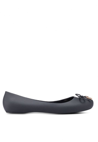 Twenty Eight Shoes black Jelly Ballerinas A-9 833B5SH6AFEA73GS_1