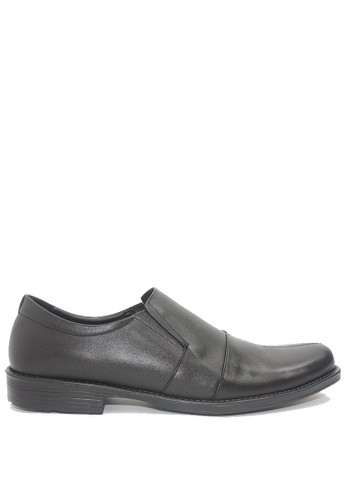 Dr. Kevin black Dr. Kevin Men Dress & Bussiness Formal Shoes 13348 - Black 1BB03SH93F89F2GS_1