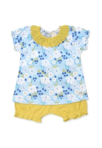 Organic mom brown Organic Cotton Evelyn Floral Pajamas C9016KA7172FA6GS_1