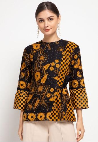 Vestiti multi Freya Blouse Batik Kombinasi E8DD4AA9329020GS_1