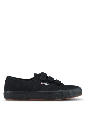 Superga black Cot3Strapu Sneakers AF51ASH6C596F7GS_1
