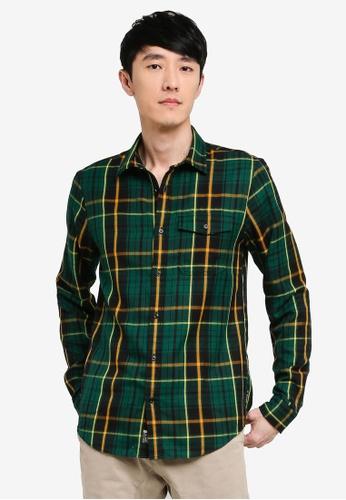Scotch & Soda multi Regular Fit - Seasonal Check Shirt 44F79AA4A821EBGS_1