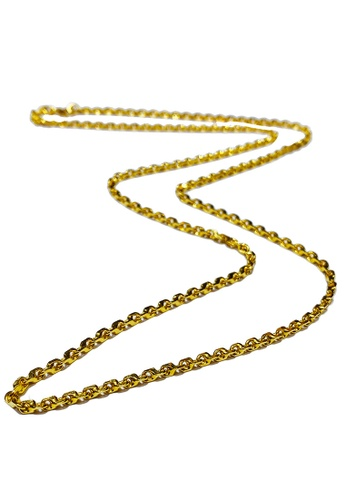 LITZ gold LITZ 916 (22K) Gold Necklace 万字项链 N0005-45cm-3.05g+/- 6F492AC18C3E8BGS_1
