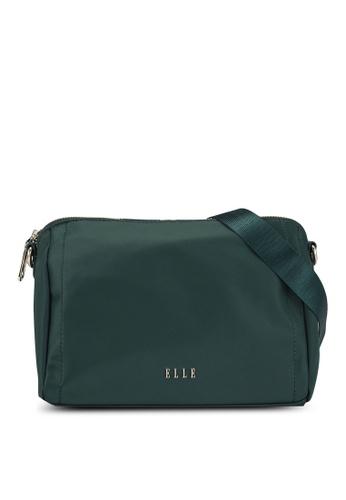 ELLE green Charice Sling Bag 1E0FDAC9A4A0F3GS_1