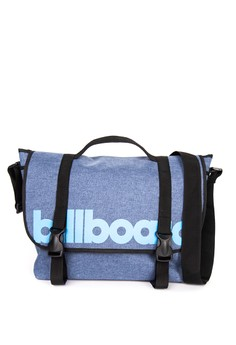 Messenger Bag with Billboard Print