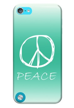 Peace Sign Hard Case for iPod Touch 5th Gen