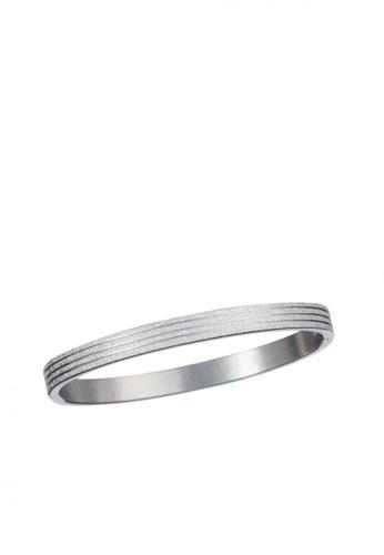 Elfi silver Modern Exclusive Design Stainless Steel Bracelet MB06 EL186AC86VWBMY_1