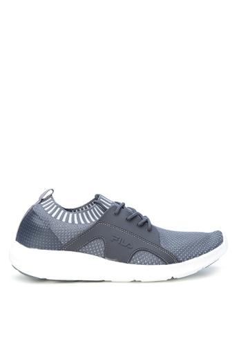 Fila grey Xlite Quest Lace-up Shoes FI683SH0K85NPH_1