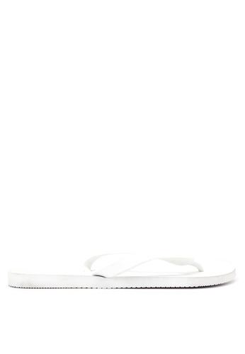 Dupe white Cores Flip Flops DU626SH23VVCPH_1