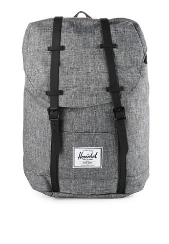 Herschel grey Retreat Backpack 0E68DAC0BA220EGS_1