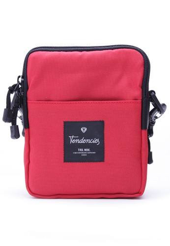 Tendencies red Tendencies Bag RED SLING POUCH 1F3BFACC7C2AB7GS_1