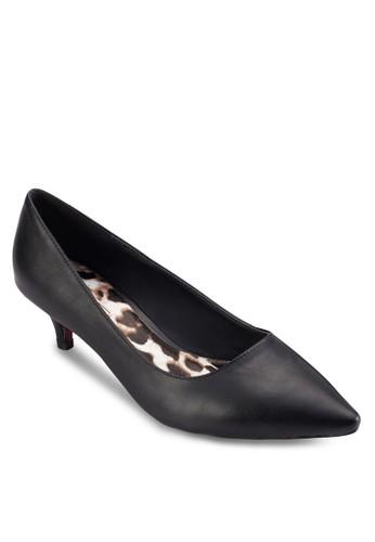 Leopazalora 衣服評價rd Print Heel Pumps, 女鞋, 鞋