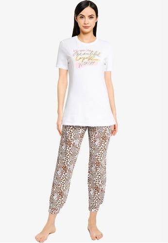 ONLY white Isabella Nightwear Set ED6F1AA05171ECGS_1