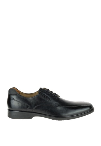 Hush Puppies black Henning Workday Waterproof Dress Casual Shoes D8902SH16D3CB4GS_1