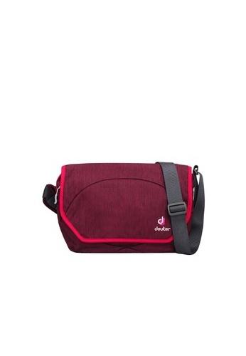 Deuter purple Carry Out Messenger Bag DE112AC11RGEPH_1