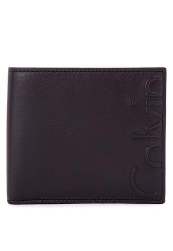 Calvin Klein black Billfold With Coin Case CA221AC0JXJXPH_1
