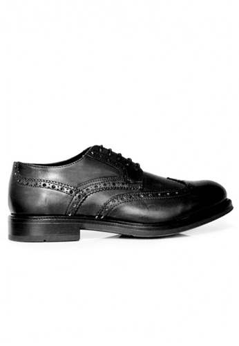 Gino Mariani black Gino Mariani Men's Leather Shoes FLORANZO - BLACK 14B31SHBD76414GS_1