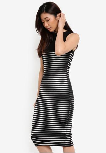 Cotton On black Lola Midi Dress CO372AA93TOCMY_1