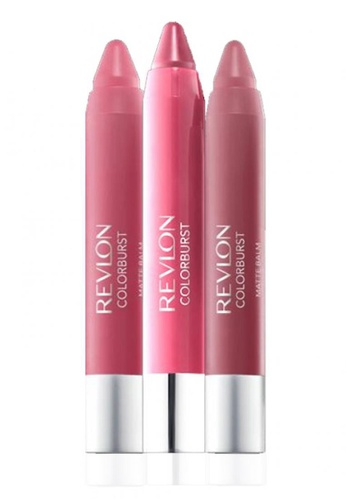 Revlon pink Revlon® Balm Pink Collection – Sweetheart/Sultry/Elusive 3* 2.7g Ea RE737BE37CXASG_1