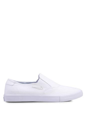 Nike white Nike SB Portmore II Solarsoft Slip Shoes 1CA47SHF38DA36GS_1