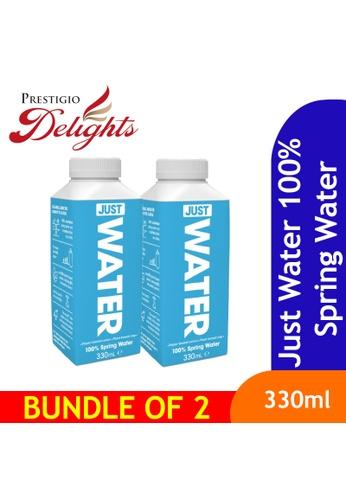 Prestigio Delights Just Water 100% Spring Water 330ml Bundle of 2 D916FES3997E62GS_1