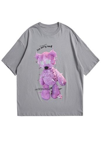 Twenty Eight Shoes Reflective Printed Short T-shirt 1650S21 D7FEBAAE5C8FB3GS_1