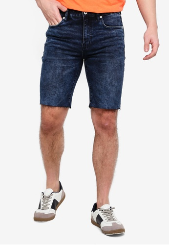 Superdry 海軍藍色 Tyler Slim Shorts 59173AAB61EA6BGS_1