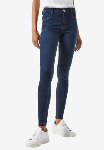 Dorothy Perkins blue Midnight Blue Frankie Jeans A9708AA20313ADGS_1