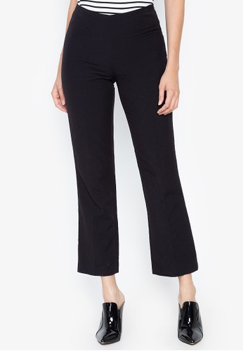 DEBENHAMS black Principles Collection Petite - Principles Collection Petite Flat Front Trouser B2F54AAD0744E2GS_1