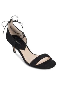 Lace-Up Heel Sandals