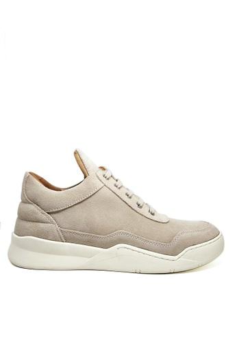 Twenty Eight Shoes Men's Oblique Suede Sneakers MC1703023 D2FB5SHA95795BGS_1