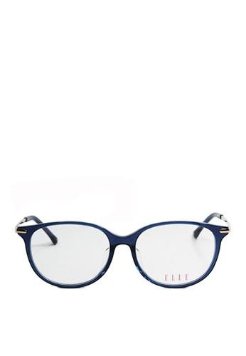 ELLE blue and gold Elle Eyewear EL14337 BL 6F60EGL4F6B91FGS_1