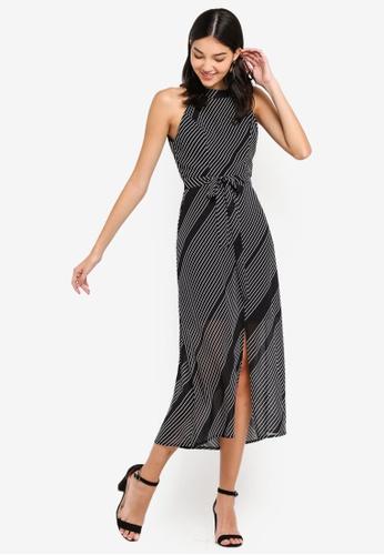 66f5f6b25e457 Buy ZALORA Cut In Maxi Dress Online on ZALORA Singapore