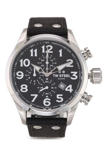 TW Steel black Volante VS3 Watch 20A7BACC2FB715GS_1