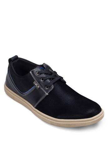 拼接繫帶休閒鞋,esprit 台中 鞋, 休閒鞋