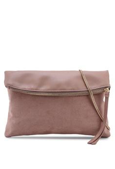 0f0a251fd88 Dorothy Perkins pink Blush Foldover Clutch Bag 703D6AC6252ECDGS_1