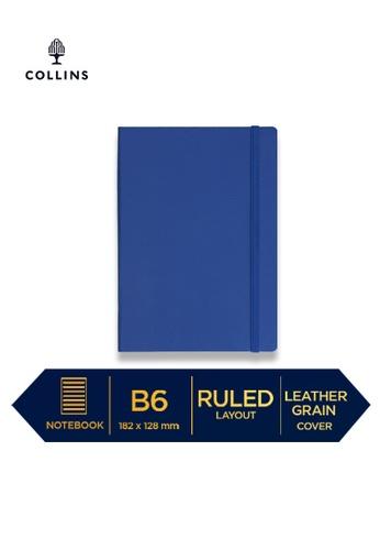 Collins blue Collins Metropolitan Glasgow  ─  Notebook B6 Ruled Blue 05E23HL83B9920GS_1