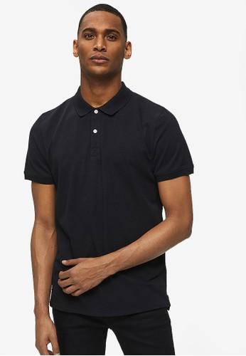Selected Homme black Classic Polo Shirt C0817AAEB1377BGS_1