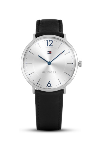 Tommy Hilfiger Watches black and silver Men's Ultra Slim TO959AC10QIZPH_1