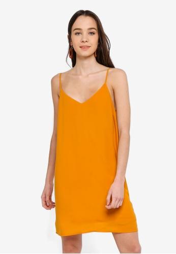 Cotton On gold Woven Margot Slip Dress CD136AA521F6CEGS_1